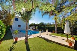 Фасад дома. Кипр, Санрайз Протарас : Уютная красивая вилла с 2-мя спальнями, с бассейном и пышным зелёным садом с патио и барбекю