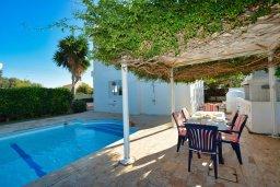 Бассейн. Кипр, Санрайз Протарас : Уютная красивая вилла с 2-мя спальнями, с бассейном и пышным зелёным садом с патио и барбекю