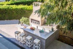 Территория. Кипр, Каво Марис Протарас : Шикарная вилла с 4-мя спальнями, с большим бассейном и просторным зелёным садом с патио и барбекю