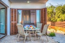 Терраса. Кипр, Каво Марис Протарас : Роскошная вилла с панорамным видом на Средиземное море, с 4-мя спальнями, с бассейном, солнечной террасой и барбекю