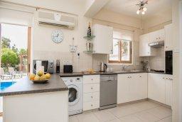Кухня. Кипр, Сиренс Бич - Айя Текла : Роскошная вилла с бассейном, с 2-мя спальнями, прекрасным зелёным садом с патио и барбкю