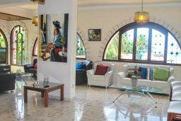 Гостиная. Кипр, Аргака : Роскошная прибрежная вилла с 6-ю спальнями, с бассейном, зелёным садам с беседкой и барбекю