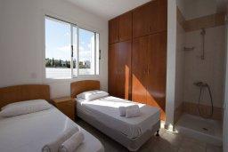 Спальня 3. Кипр, Санрайз Протарас : Шикарная вилла с 3-мя спальнями, с бассейном, тенистой террасой с патио, барбекю и настольным теннисом