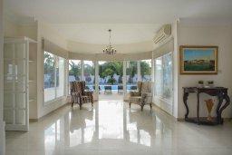 Гостиная. Кипр, Санрайз Протарас : Изысканная вилла с 5-ю спальнями, с большим бассейном, зелёной территорией с барбекю и беседкой