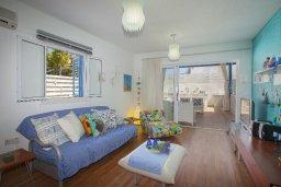 Гостиная. Кипр, Пернера : Прекрасная вилла с 2-мя спальнями, уютной меблированной террасой и барбекю