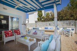 Патио. Кипр, Пернера : Прекрасная вилла с 2-мя спальнями, уютной меблированной террасой и барбекю