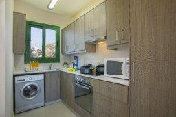 Кухня. Кипр, Санрайз Протарас : Прекрасный апартамент с гостиной, двумя спальнями и балконом с видом на море