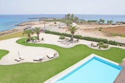 Вид на море. Кипр, Каво Марис Протарас : Шикарный апартамент в 100 метрах от пляжа, с тремя спальнями, двумя ванными комнатами и балконом с шикарным видом на море