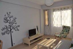 Гостиная. Кипр, Ларнака город : Апаратмент в центре Ларнаки с гостиной, отдельной спальней и балконом