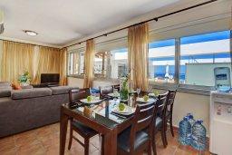 Гостиная. Кипр, Фиг Три Бэй Протарас : Современный пентхаус с видом на Средиземное море, с 3-мя спальнями, большой террасой с джакузи, lounge-зоной и уличным баром, расположен около пляжа Fig Tree Bay