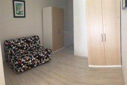 Спальня. Кипр, Гермасойя Лимассол : Апартамент в 50 метрах от пляжа, с гостиной, отдельной спальней и террасой с видом на сад