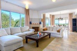 Гостиная. Кипр, Каво Марис Протарас : Уютная вилла с 3-мя спальнями, с бассейном, тенистой террасой с патио и барбекю