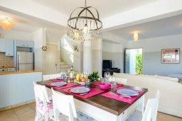 Обеденная зона. Кипр, Каво Марис Протарас : Уютная вилла с 3-мя спальнями, с бассейном, тенистой террасой с патио и барбекю