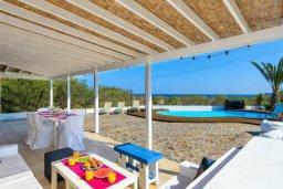 Патио. Кипр, Каво Марис Протарас : Уютная вилла с 3-мя спальнями, с бассейном, тенистой террасой с патио и барбекю