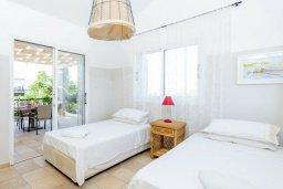 Спальня 3. Кипр, Каво Марис Протарас : Уютная вилла с 3-мя спальнями, с бассейном, тенистой террасой с патио и барбекю
