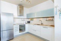 Кухня. Кипр, Фиг Три Бэй Протарас : Роскошный современный пентхаус с большой террасой на крыше с панорамным видом на море, с 2-мя спальнями и барбекю