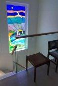 Лестница наверх. Кипр, Каво Марис Протарас : Современная вилла с бассейном и большим двором, 3 спальни, 2 ванные комнаты, барбекю, парковка, Wi-Fi