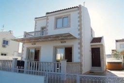 Фасад дома. Кипр, Санрайз Протарас : Прекрасная вилла с 2-мя спальнями, с приватным двориком с патио, джакузи и барбекю