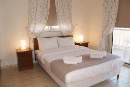 Спальня. Кипр, Санрайз Протарас : Уютная вилла с видом на море, с 2-мя спальнями, с бассейном, патио и барбекю