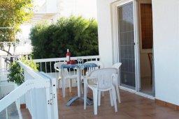 Терраса. Кипр, Санрайз Протарас : Прекрасная вилла с 2-мя спальнями, с просторным внутренним двориком с патио и барбекю