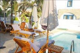 Зона отдыха у бассейна. Кипр, Каппарис : Прекрасная вилла с 2-мя спальнями, бассейном и уютным двориком с патио