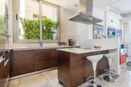 Кухня. Кипр, Каво Марис Протарас : Шикарная вилла с панорамным видом на море, с 5-ю спальнями, 5-ю ванными комнатами, с бассейном, террасой с патио и барбекю, садом на крыше и джакузи