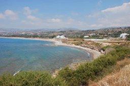 Вид на море. Кипр, Киссонерга : Шикарная вилла с панорамным видом на Средиземное море, с 4-мя спальнями, с бассейном, солнечной террасой с патио и барбекю