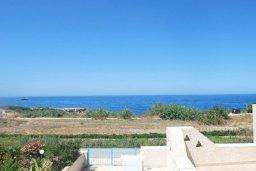 Вид на море. Кипр, Хлорака : Прекрасное бунгало с видом на море, с 2-мя спальнями, с бассейном, зелёным садом и барбекю
