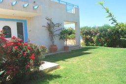 Территория. Кипр, Хлорака : Семейная вилла с видом на море, с 3-мя спальнями, с бассейном и зелёным двориком с барбекю