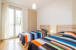 Спальня 2. Кипр, Св. Рафаэль Лимассол : Современный апартамент в комплексе с бассейном, с большой гостиной, двумя спальнями и балконом