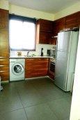 Кухня. Кипр, Нисси Бич : Роскошная вилла с бассейном и зеленым двориком с барбекю, 3 спальни, 2 ванные комнаты, парковка, Wi-Fi