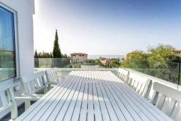 Балкон. Кипр, Св. Рафаэль Лимассол : Превосходные современные апартаменты с 4-мя спальнями в 50-ти метрах от моря с потрясающим панораманым видом на море для 8-ми человек