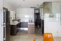 Кухня. Кипр, Декелия - Ороклини : Современная пляжная вилла с бассейном и видом на море, 4 спальни, 3 ванные комнаты, барбекю, парковка, Wi-Fi