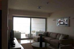Гостиная. Кипр, Центр Лимассола : Роскошные апартаменты на берегу моря, с 3-мя спальнями, в комплексе с бассейном, spa-центром и фитнес клубом