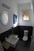 Ванная комната. Кипр, Перволия : Прекрасная вилла с 2 спальнями с для 5-ти гостей с общим бассейном и двориком