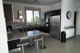 Кухня. Кипр, Перволия : Очаровательная вилла с 4-мя спальнями, с бассейном и зелёным садом, расположена в Ларнаке для 8-ми гостей