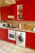 Кухня. Кипр, Св. Рафаэль Лимассол : Уютные апартаменты с 2-мя спальнями для 4-ти гостей всего в 300 метрах от моря, Лимассол