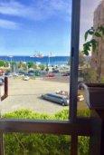 Вид на море. Кипр, Св. Рафаэль Лимассол : Уютные апартаменты с 2-мя спальнями для 4-ти гостей всего в 300 метрах от моря, Лимассол