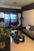 Гостиная. Кипр, Св. Рафаэль Лимассол : Уютные апартаменты с 2-мя спальнями для 4-ти гостей всего в 300 метрах от моря, Лимассол