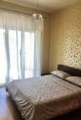 Спальня. Кипр, Св. Рафаэль Лимассол : Роскошные апартаменты с 2-мя спальнями для 4-ти гостей на 1 береговой линии, Лимассол
