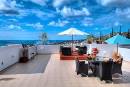 Балкон. Кипр, Пейя : Уютные апартаменты с 3-мя спальнями для 5-ти гостей