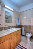 Ванная комната. Кипр, Пейя : Уютные апартаменты с 3-мя спальнями для 5-ти гостей