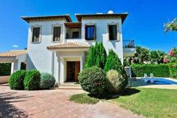 Фасад дома. Кипр, Хлорака : Прекрасная вилла с 4-мя спальнями, с бассейном и двориком, расположена в Пафосе для 8-ти гостей