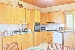 Кухня. Кипр, Айя Марина Хрисохус : Замечательная кипрская вилла с потрясающим видом на море, с 3-мя спальнями, бассейном, тенистой террасой с патио и барбекю, расположена у пляжа Agia Marina,