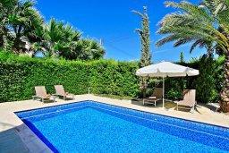 Бассейн. Кипр, Полис город : Современная и стильная вилла с панорамным видом на море, с 4-мя спальнями, 4-мя ванными комнатами, бассейном, меблированной террасой на крыше и барбекю, расположена всего в нескольких шагах от пляжа