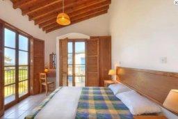 Спальня. Кипр, Полис город : Очаровательная вилла с 3 спальнями с для 6-ти гостей с бассейном и садом