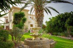 Зелёный сад. Кипр, Аргака : Впечатляющая вилла с удивительным непрерывным видом на море и горы, с 5-ю спальнями, с бассейном, ландшафтным садом с патио и барбекю