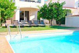 Бассейн. Кипр, Корал Бэй : Очаровательная вилла с 3-мя спальнями, с бассейном, приватным двориком с патио и барбекю, в окружение зелёного сада