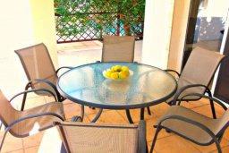 Патио. Кипр, Корал Бэй : Очаровательная вилла с 3-мя спальнями, с бассейном, приватным двориком с патио и барбекю, в окружение зелёного сада