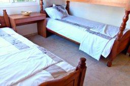 Спальня 3. Кипр, Корал Бэй : Очаровательная вилла с 3-мя спальнями, с бассейном, приватным двориком с патио и барбекю, в окружение зелёного сада
